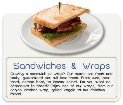 Judi's Deli Sandwich and Wraps